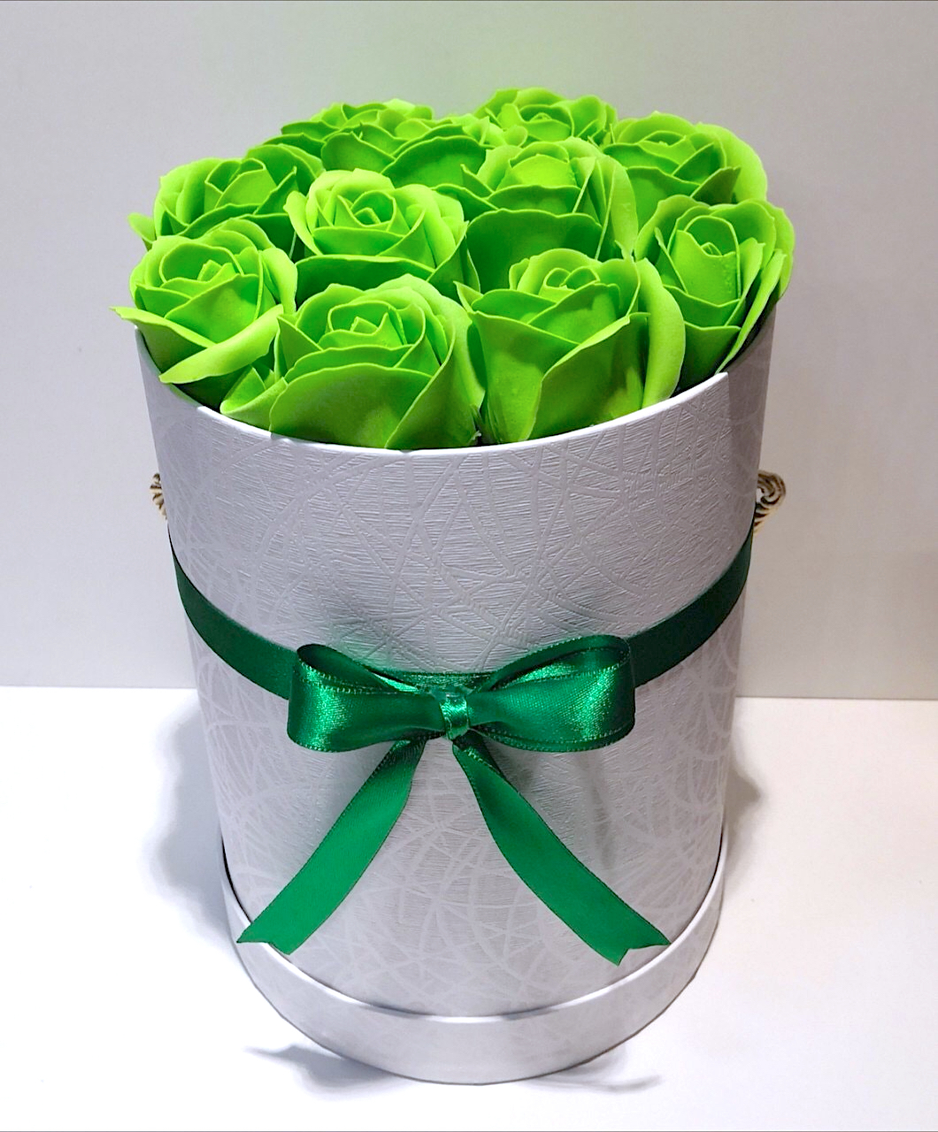 Green Flower Box